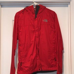 The North Face Red Windbreaker